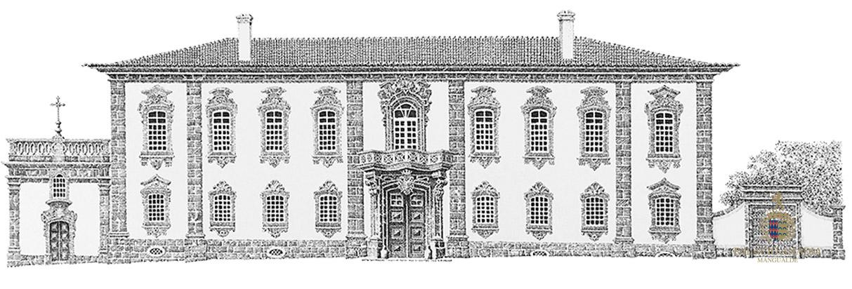 Arquitectura do Palacio Anadia
