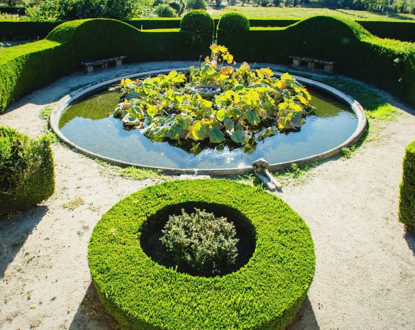 (Português) Jardins Históricos Palácio Anadia, Viseu
